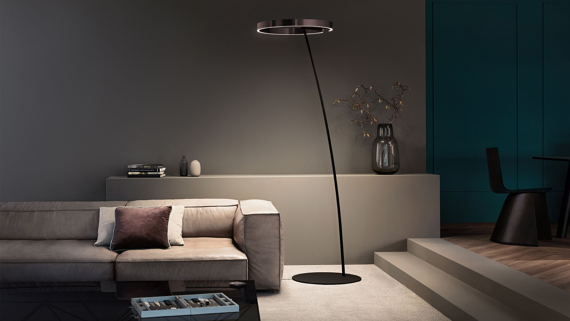 Mito sospeso lighting design